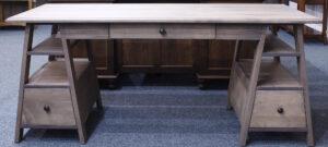 Wrightsville Sawhorse Desk