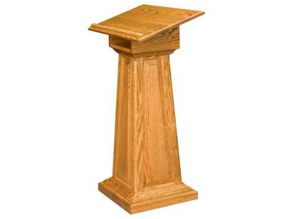 Amish Raised Panel Podium