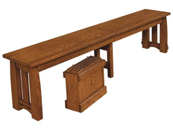 Amish Colebrook Bench