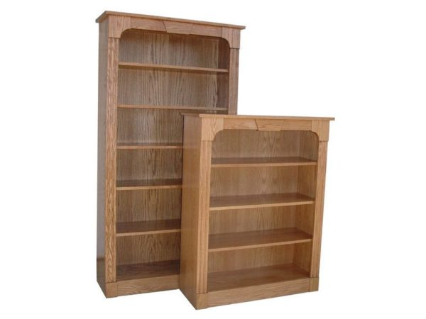 Amish Northport Oak Bookcase