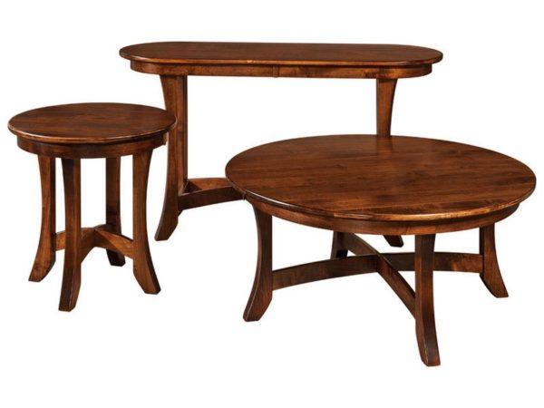 Amish Carona Occasional Table Set