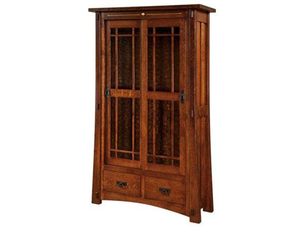 Amish Morgan Hardwood Bookcase