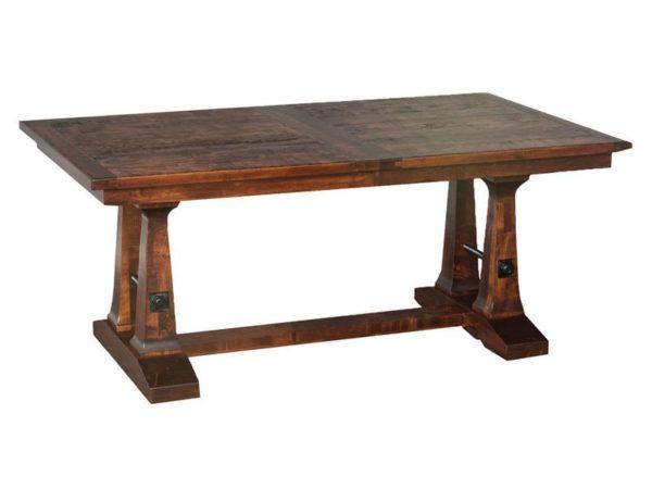 Amish Vienna Trestle Dining Room Table
