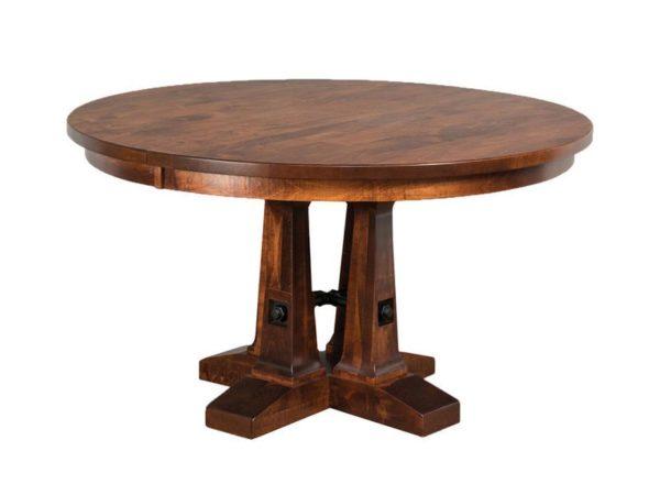 Amish Vienna Pedestal Table
