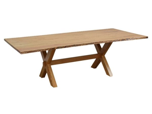 Amish Frontier Live Edge Dining Room Table