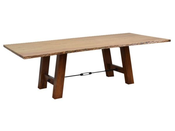 Amish Ouray Live Edge Dining Room Table