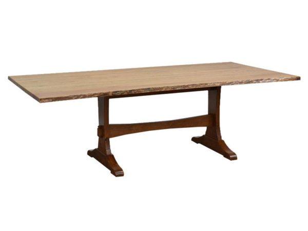 Amish Wasilla Live Edge Dining Room Table