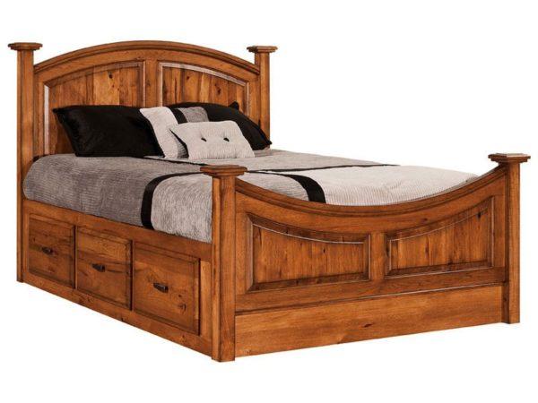 Amish Highland Storage Bed