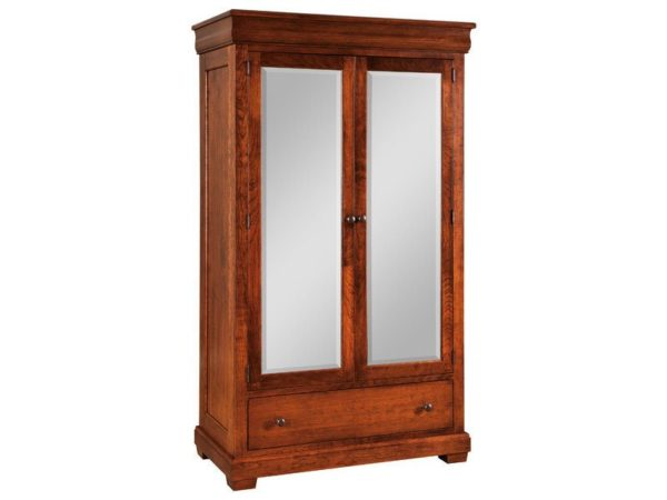 Amish Marshfield One Drawer Armoire