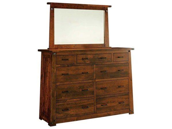 Amish Encada 9 Drawer Dresser