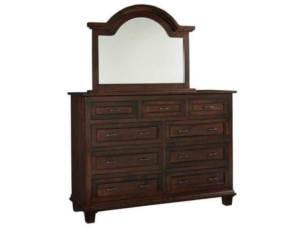 Amish Francine 9 Drawer Dresser