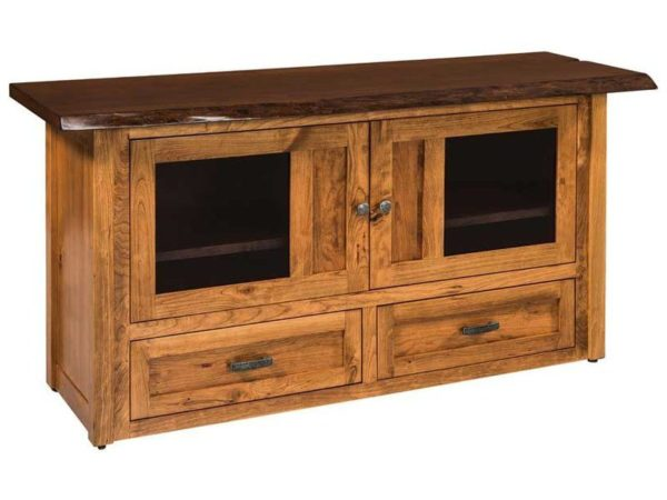 Amish Kalispel Small TV Cabinet