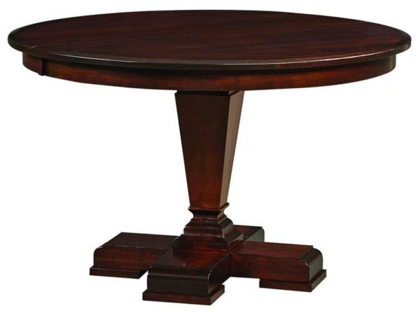 Amish Fulton Single Pedestal Dining Table