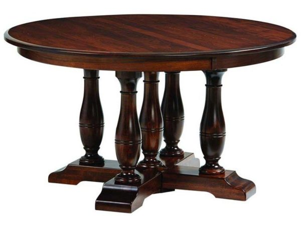 Amish Westfield Round Dining Table