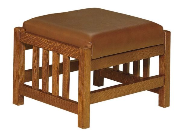 Amish Clearspring Slatted Morris Footstool
