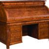 Amish Castlebury Rolltop Desk Closed
