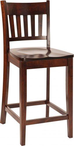 Amish Marbury Bar Chair