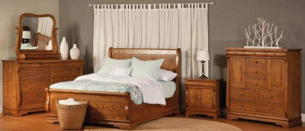 Amish Chippewa Sleigh Bedroom Collection