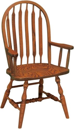 Amish Bent Paddle Arm Chair