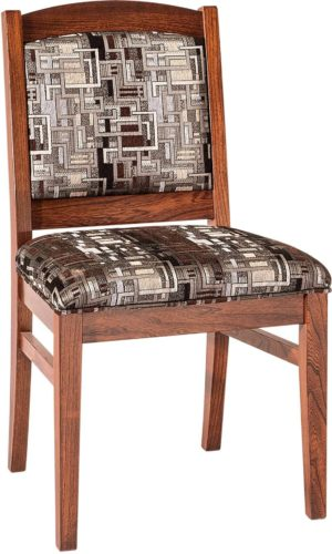 Amish Bayfield Fabric Dining Chair