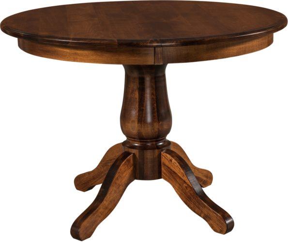 Amish Easton Single Pedestal Table