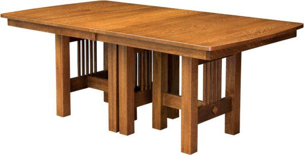 Amish Hartford Trestle Table
