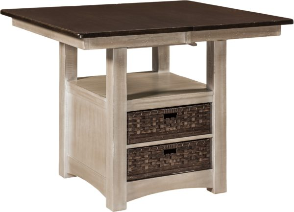 Amish Heidi Cabinet Table