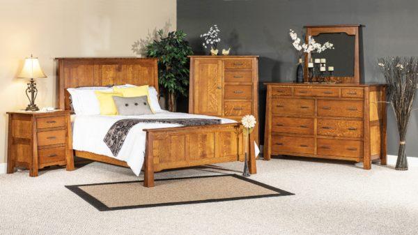 Amish Cambridge Bedroom Set