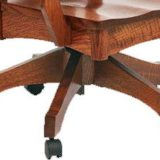 Wyndlot Desk Chair with Mission Base