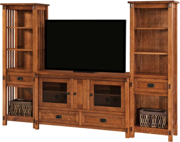 Amish Rio Mission Entertainment Console Set