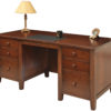 Amish Manhattan 66 Inch Executive Desk