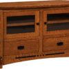 Amish Large Colebrook Corner TV Stand