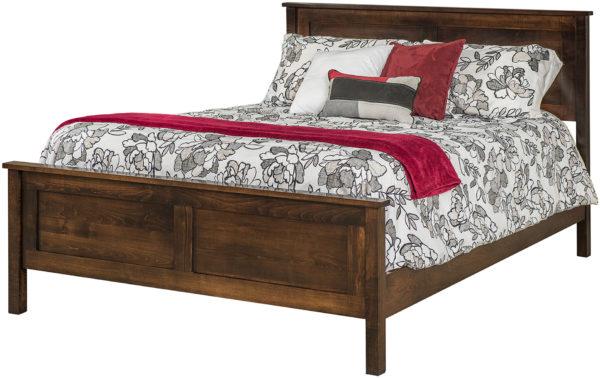 Amish Plain Shaker Bed
