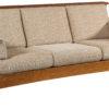 Amish Highback Slat Mission Sofa