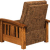 Amish McCoy Recliner Back Detail