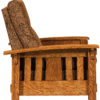 Amish McCoy Wallhugger Recliner Side