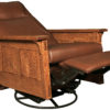 Amish McCoy Fully Reclined Swivel Rocker