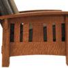 Amish McCoy Morris Side Slat Detail