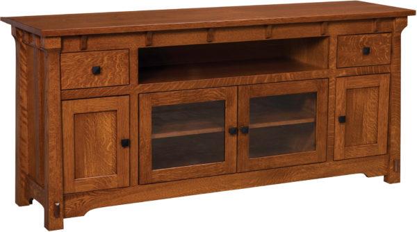 Amish Large Manitoba TV Cabinet