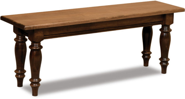 Amish Harvest Trestle Bench