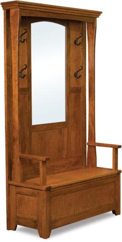 Amish Hampton Hall Seat