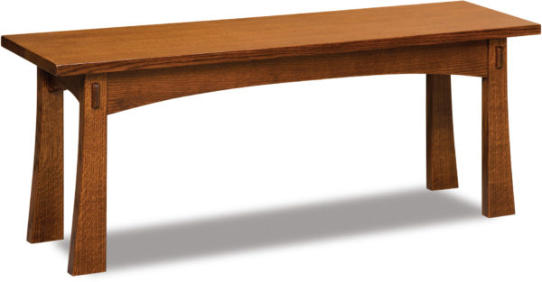 Amish Modesto Trestle Bench