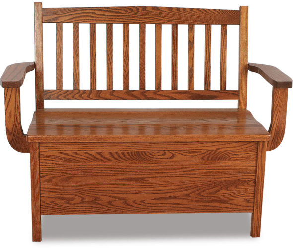 Amish Lowback Regular Mission Bench