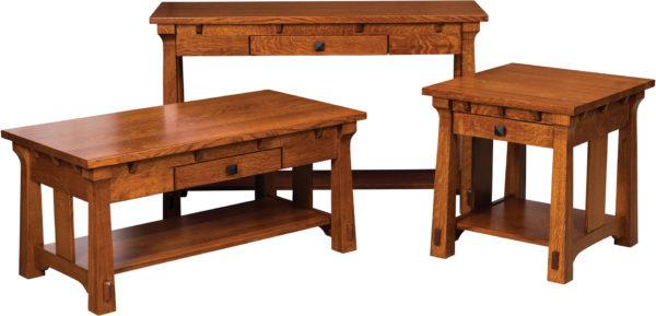 Amish Manitoba Occasional Table Set
