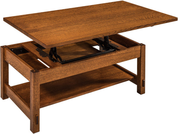 Amish Springhill Open Lift Top Coffee Table
