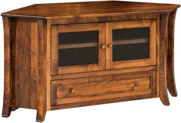Amish Caledonia Corner TV Unit