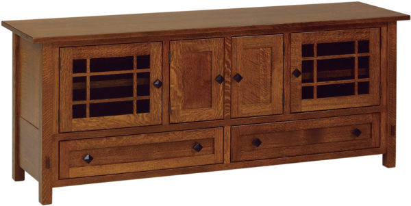 Amish Springhill 72 Inch TV Cabinet