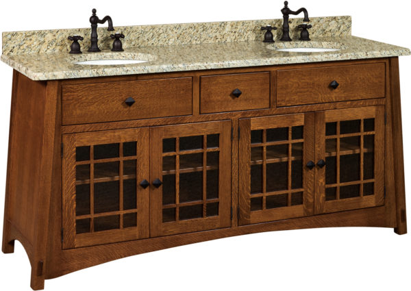 Amish McCoy 72 Inch Free Standing Sink