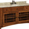 Amish McCoy 60 Inch Free Standing Sink