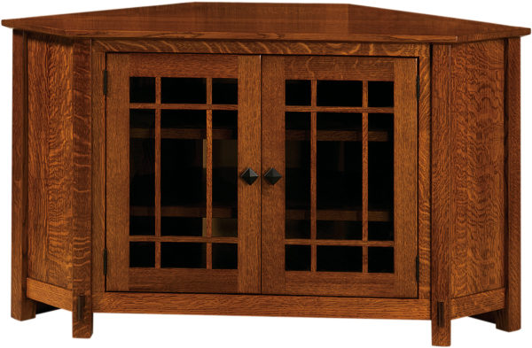 Amish McCoy TV Corner Unit